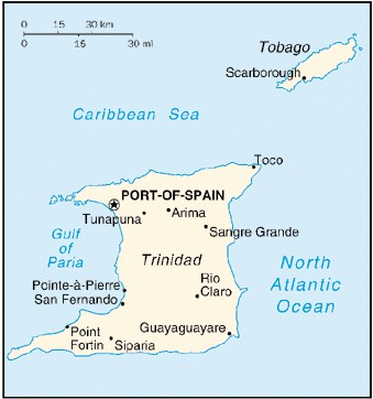 Geography Trinidad